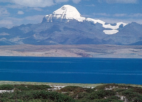Mount kailash and Lake manasarovar